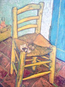 ゴッホの描いた椅子